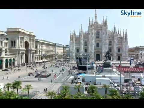 Live Webcam Milano - Time Lapse