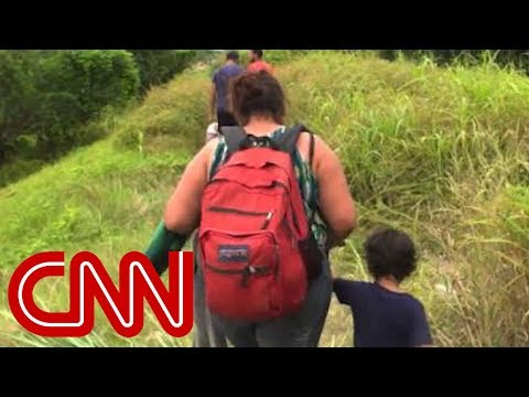 CNN: Migrants take 2,500-mile journey to America