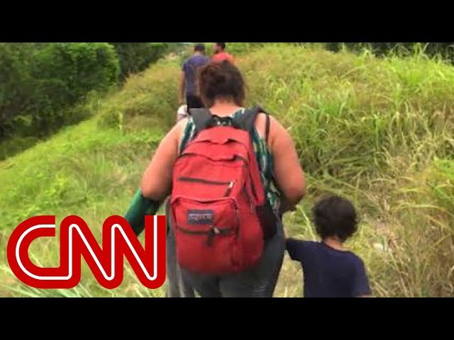 Migrants take 2,500-mile journey to America