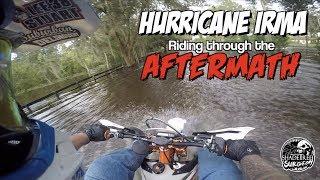 Hurricane Irma: Riding through the Aftermath