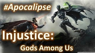 Injustice: Gods Among Us - Jogando Wii U - Batalha Regular #Apocalipse