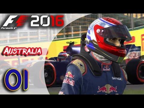 F1 2016 (FR) - Mode Carrière - Les débuts