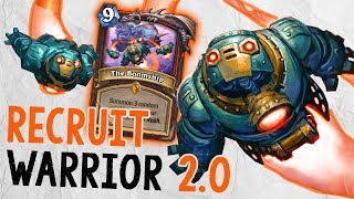 RECRUIT WARRIOR 2.0 Feat. The Boomship | The Boomsday Project | Hearthstone