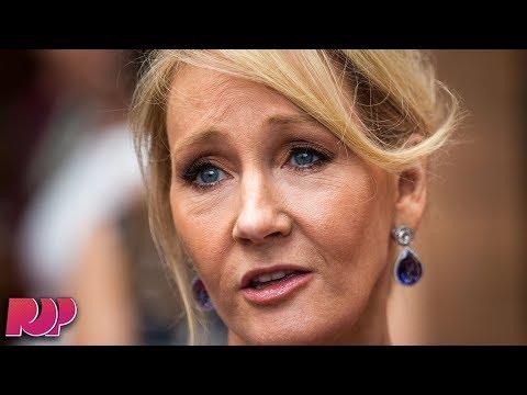 "J.K. Rowling Defends Johnny Depp Casting In ""Fantastic Beasts"""
