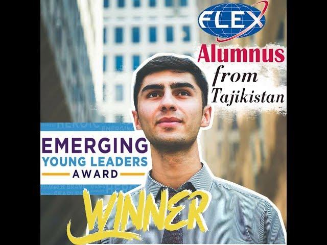Meet Firuz '15, the #EYLeader award winner!