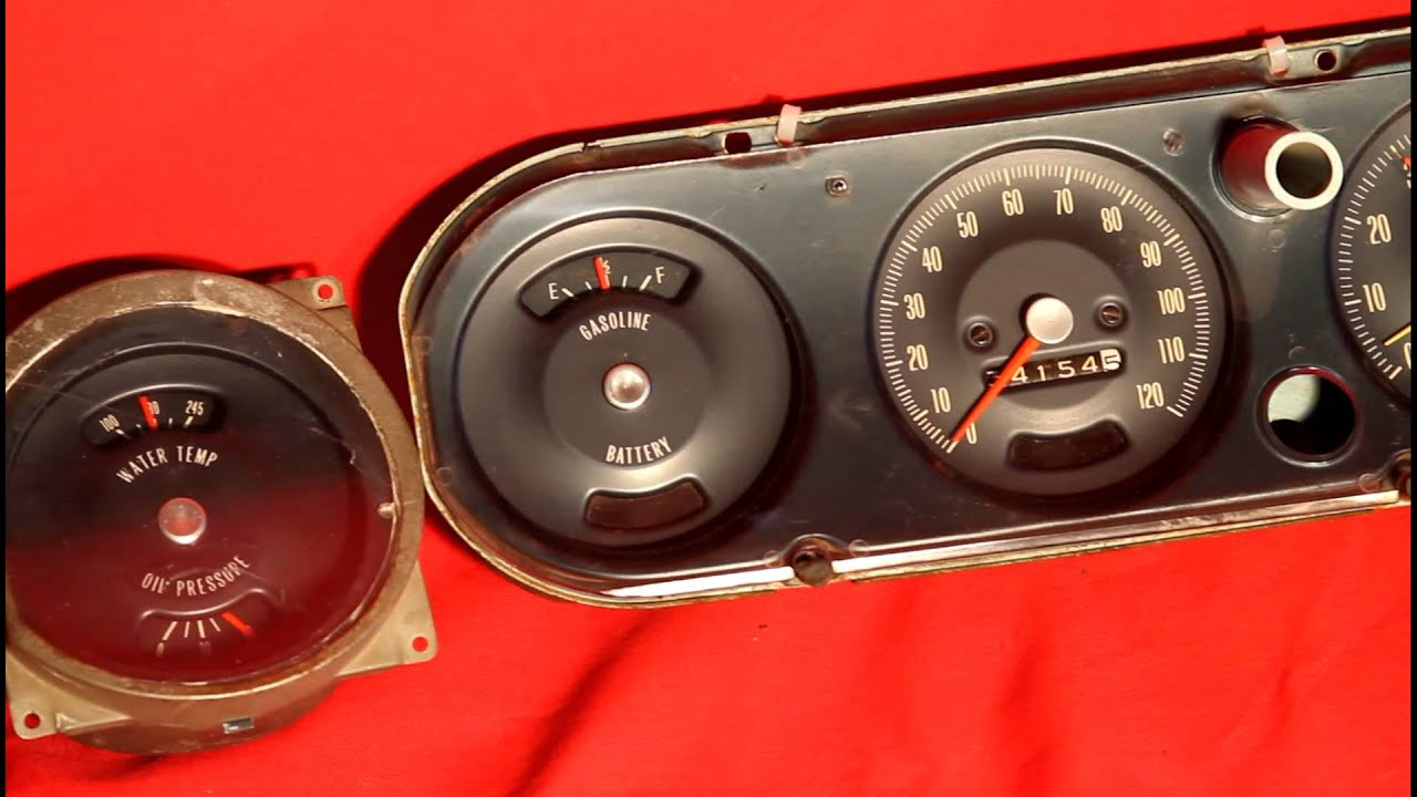 maxresdefault 1966 1967 gto tachometer & gauges oil pressure, gas, temperature wiring harness for 1967 gto 400 at n-0.co