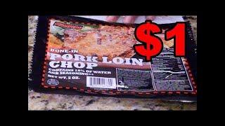 $1 pork chops - SATURDAY LIVE CHAT