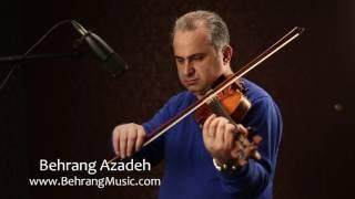 ویولن بهرنگ آزاده دشتی به یاد استاد علی تجویدی. Persian violin memorial of Ali Tajvidi
