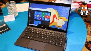 Dell Latitude 12 Hands On - 2 in 1 Tablet with Real Sense