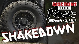 SHAKEDOWN: Rage Thunder Tires & MB11 Wheels by Discount Tire