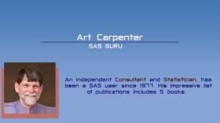 How to become a Top SAS Programmer by Art Carpenter, SAS Guru
