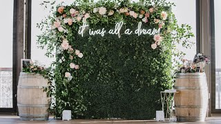Easy Diy Backdrop | Birthday/wedding/event| Quick How To Tutorial