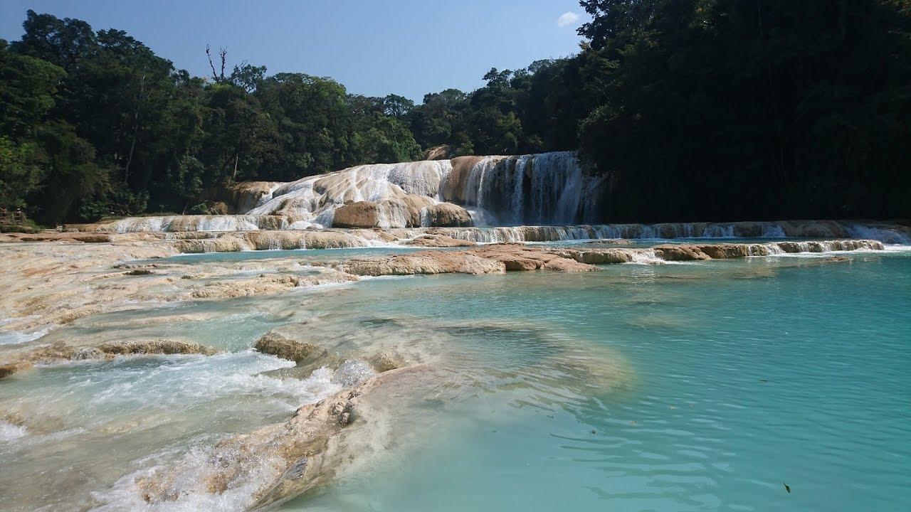 Cascadas de agua azul chiapas youtube for Motor para cascada de agua