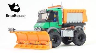 Kijk LEGO City 60083 sneeuwtruck filmpje