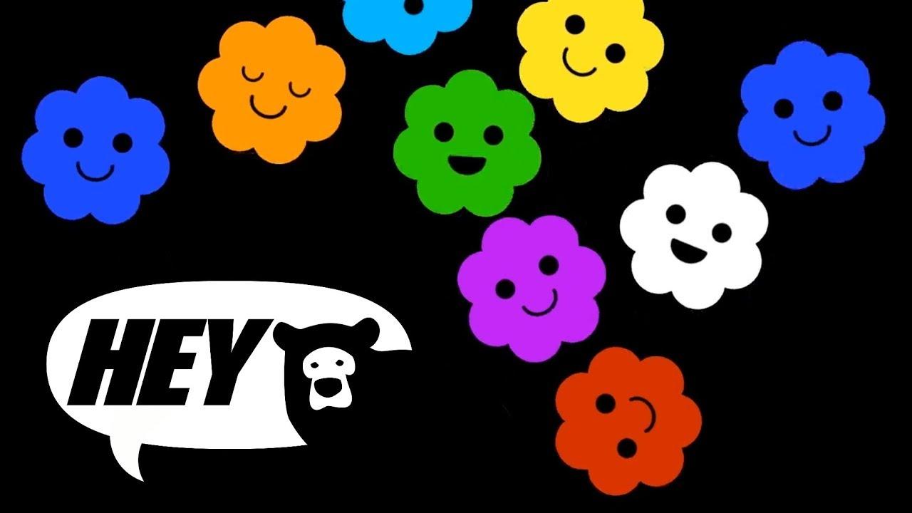 Hey Bear Sensory Popcorn Fun Video With Songs High Contrast Animation Youtube