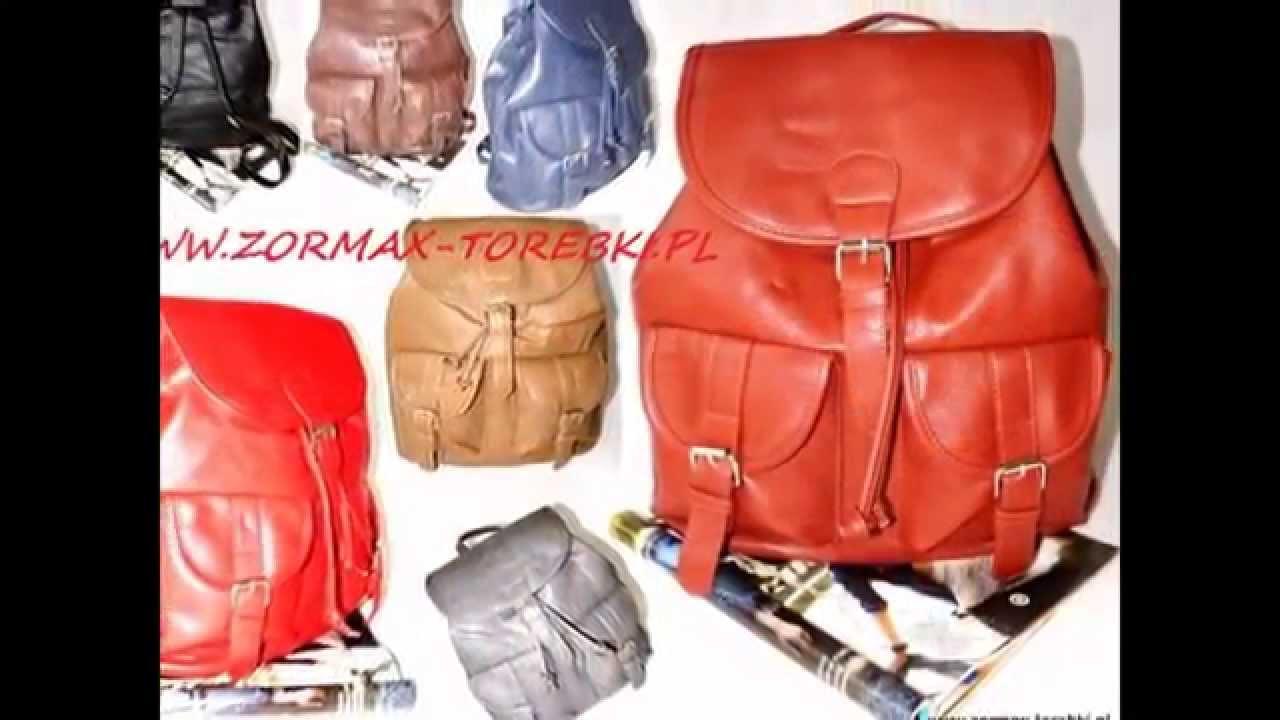 c5e55a680fc60 ZORMAX torby torebki hurtownia - YouTube