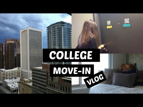 COLLEGE FRESHMAN MOVE-IN VLOG 2017