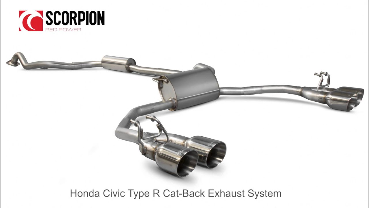 Civic Cat Back Exhaust