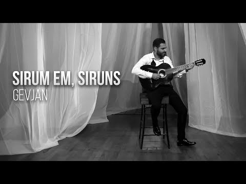 Gevorg Martirosyan (Gevjan) - Sirum Em, Siruns // Official Music Video // 4K