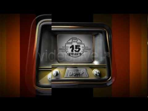 Retro TV Sets intro After Effects Template