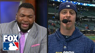 Erik Kratz joins FOX MLB crew to recap Milwaukee