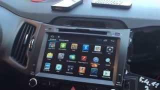 Multimedia radio KIA Sportage Android model