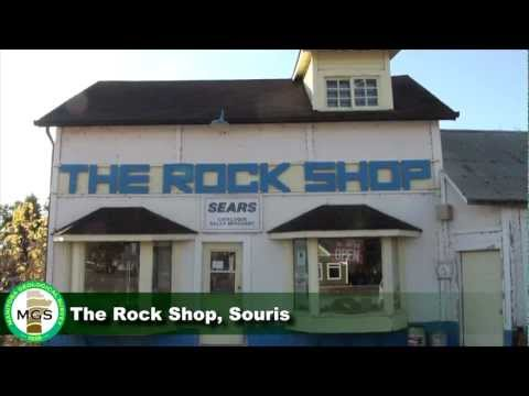 MB GeoTour 10 – The Rock Shop in Souris, Manitoba