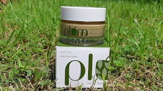 Plum green tea clear face mask review, best face pack for oily and combination skin,