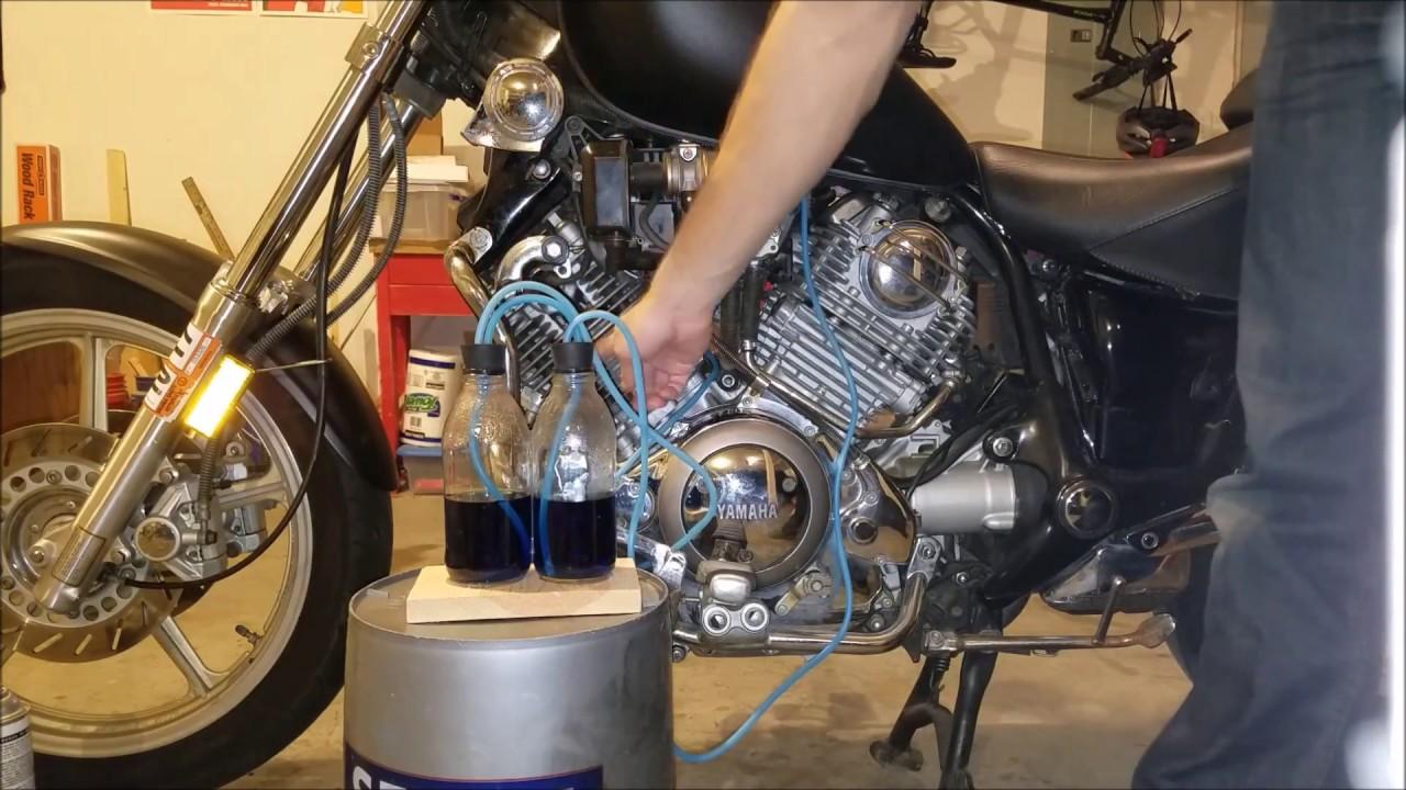 1994 yamaha virago xv1100 carb syncronization youtube for Yamaha virago 1100 carburetor adjustment