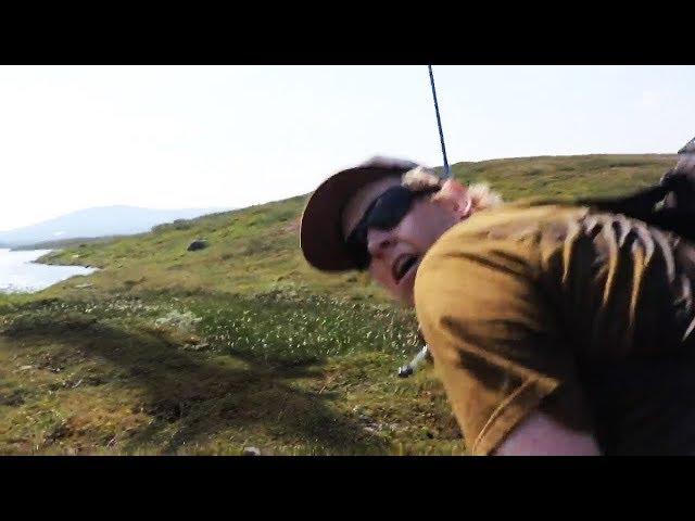 Skräcken på Stekenjokk!   Sommarfiske 2018   Del 1