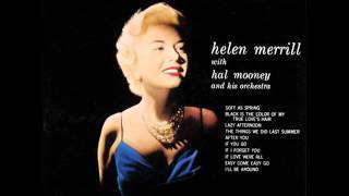 Helen Merrill - The Things We Did Last Summer (1957)