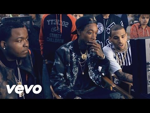 Sean Kingston - Beat It (Behind The Scenes) ft. Chris Brown, Wiz Khalifa