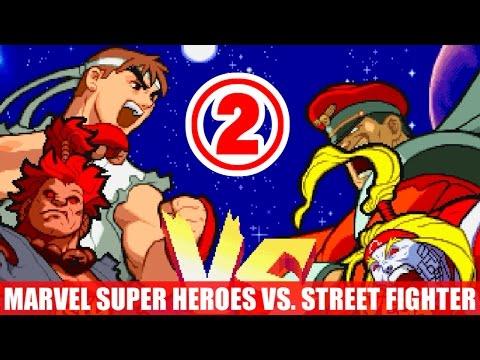[2/4] 豪鬼(Akuma) and リュウ(Ryu) - マーヴル・スーパーヒーローズ VS. ストリートファイター