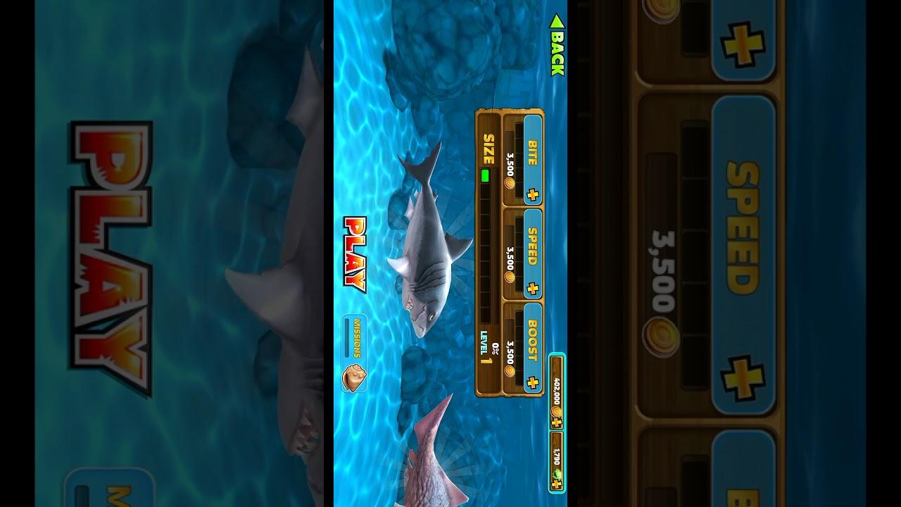 Cara ngecheat game hungry shark - YouTube