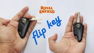 Flip Key Grand New Avanza Inner Grill For Royal Enfield With A Ring King Indian
