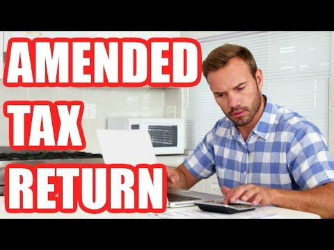 How To File An Amended Tax Return 2019 Step By Step