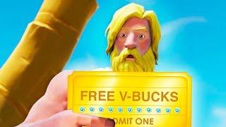 CLAIM THE 2500 FREE V-BUCKS NOW in Fortnite! (FREE CODE)