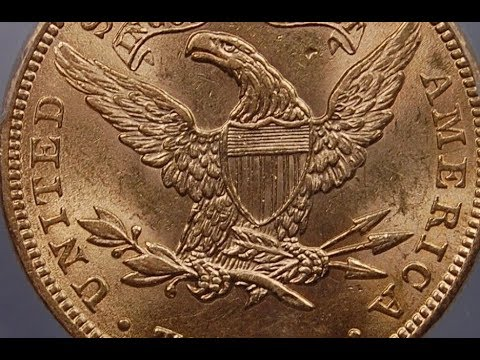 GOLD LIBERTY EAGLE GOLD BULLION COIN 1901 $10 GOLDEN EAGLE COIN & WHAT IT IS WORTH
