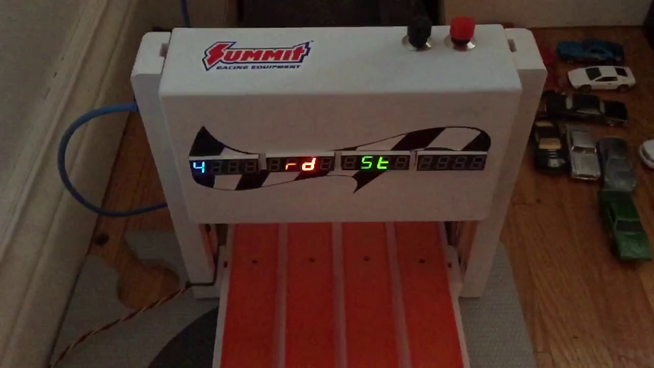 Arduino Hot Wheels Drag Strip Race Track Unmaintained
