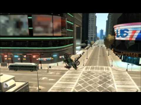 GTA 4 Stunts And Crashes 1