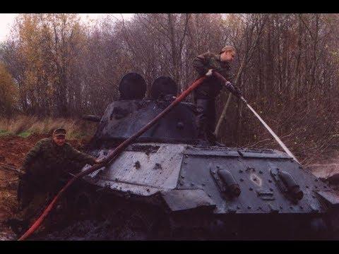 Подъем танка Т