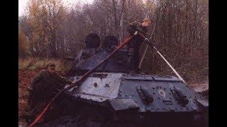 Подъем танка Т 34 76  Доватор без музыки и монтажа фильм №40