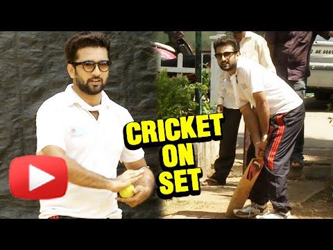 Cast Playing Cricket On The Sets Of Kamala | On Location | Akshar Kothari | Colors Marathi Serial