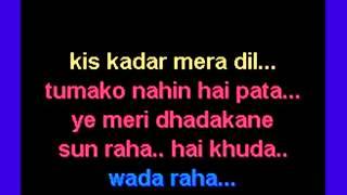 07   Wada raha pyar se karaoke song