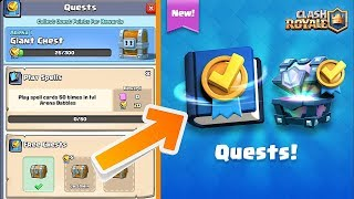 NEW UPDATE QUEST EVENT! | GET FREE LEGENDARIES | Clash royale