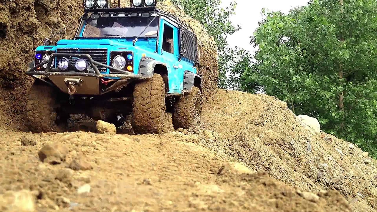 RC Scale Crawler 4x4 Land Rover D90 4x4 Expedition