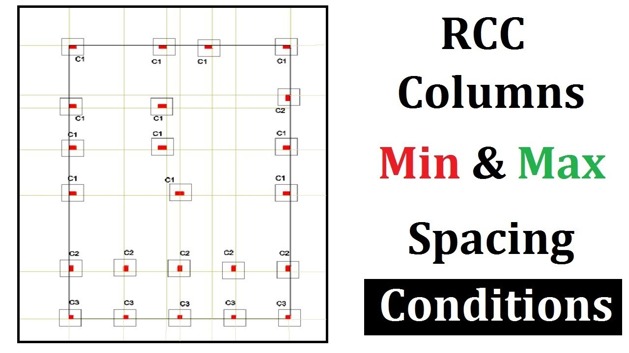 Min and Max column spacing | Conditions - Kml Hastaligi