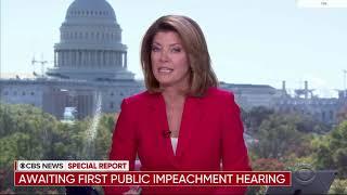 CBS News Impeachment Hearing Open Nov. 13, 2019