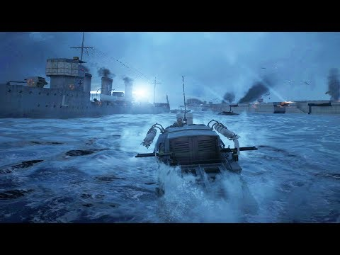 Zeebrugge Raid Gameplay - Battlefield 1 Turning Tides DLC