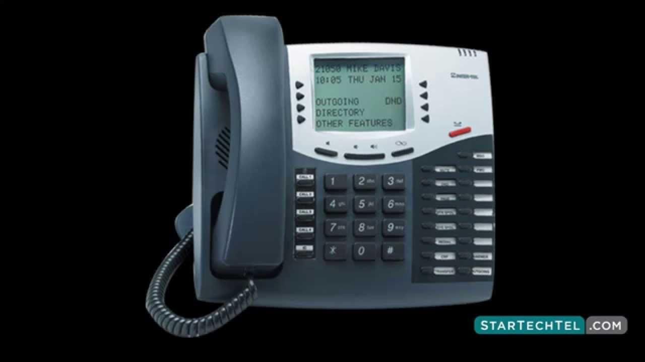Inter-tel 8520: telephone user manual.